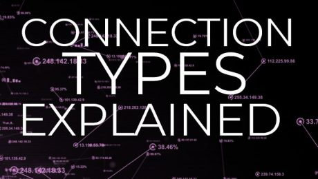 Different types of internet connection defined