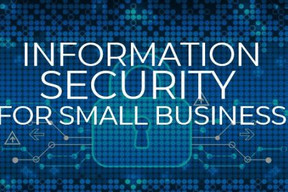 Enginet CanFibe with tips for information security for small business